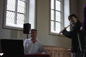 Johannes Kersthold - Piano  Oliver Fox - Flöte